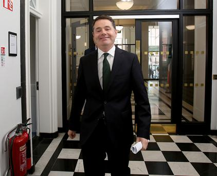 Paschal Donohoe has been appointed Minister for Finance and Public Expenditure and Reform. Photo: Tom Burke