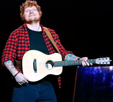 Singer Ed Sheeran. Photo: PA