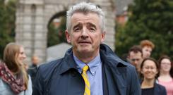 Ryanair chief executive Michael O'Leary. Photo: rollingnews.ie