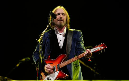 American musician Tom Petty pictured performing with the Heartbreakers in 2012. Photo: PA