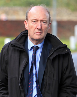 Challenges: Shane Ross (pictured), Regina Doherty and Eoghan Murphy are struggling to deal with the major issues in their portfolios of transport, social protection and housing