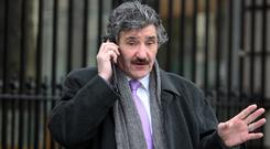 Junior Minister John Halligan has found himself the subject of a sexism storm over his questioning of a female applicant in a job interview. Photo: Tom Burke