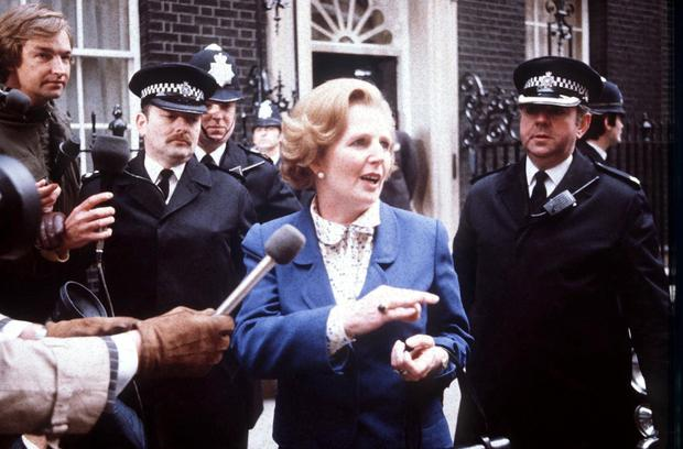 """Margaret Thatcher spoke about the need for a vibrant European Community that """"opens windows on the world"""""""