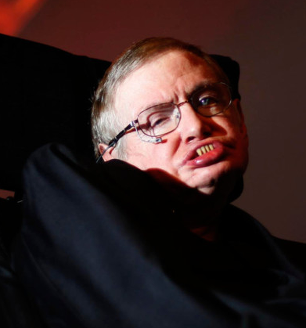 Against all odds: Professor Stephen Hawking. Photo: PA