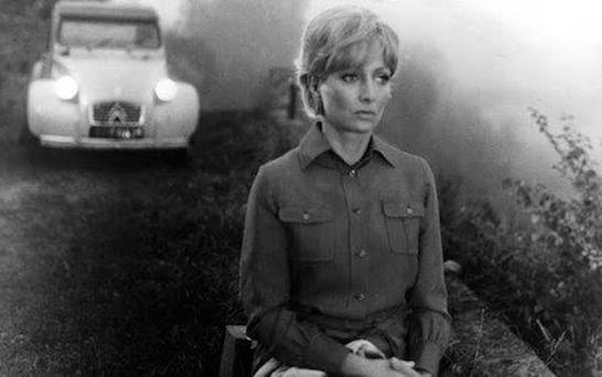 Starring role: Stephane Audran in Claude Chabrol's Le Boucher.