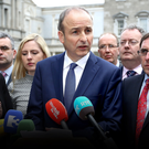 CRITICAL: Micheal Martin is at odds with the Taoiseach over his political style. Photo: Gerry Mooney