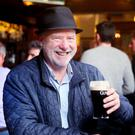 Liam Collins in The Swan on Aungier Street, Dublin. Photo: David Conachy