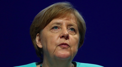 'The announced departure of Angela Merkel is another stern warning of just how fragile and inadequate economic policy within the EU, and indeed the whole world, is.' Photo: Reuters