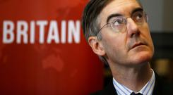 Jacob Rees-Mogg: The Brexiteer Tory MP has been described as yearning for the past. Photo: Reuters