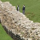 Low-tech solution: Hadrian's Wall was built to mark the border with Scotland in the second century AD. Photo: Reuters