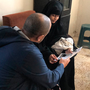 Radicalised: Londoner Shamima Begum (19) and baby son Jarrah during an interview with ITN in a Syrian refugee camp on Wednesday. Photo: PA