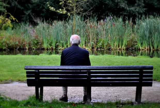 'In the UK, the elderly are being left to languish in misery, loneliness, powerlessness, helplessness and painful and debilitating diseases, and to feel that they are a burden on society and not a potent resource of wisdom and maturity' (stock photo)