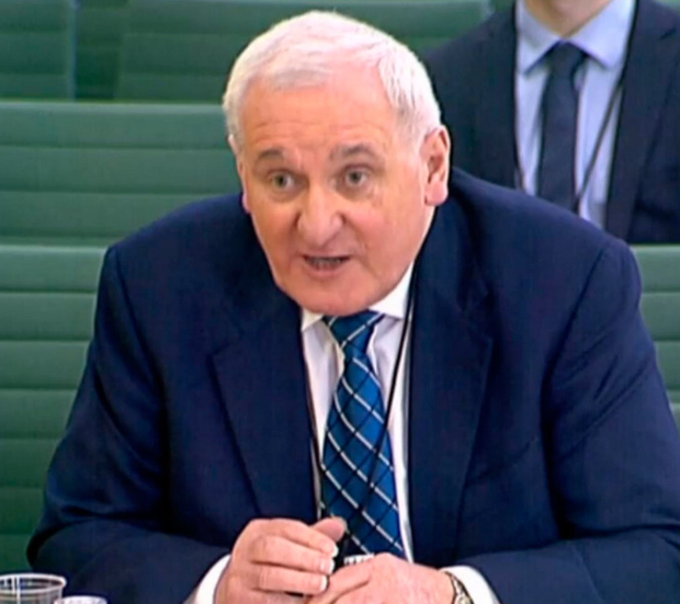 Bertie Ahern. Photo: PA