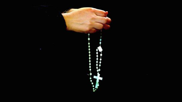The 'Hail Mary' has been named Ireland's favourite prayer after a landslide victory. Stock image