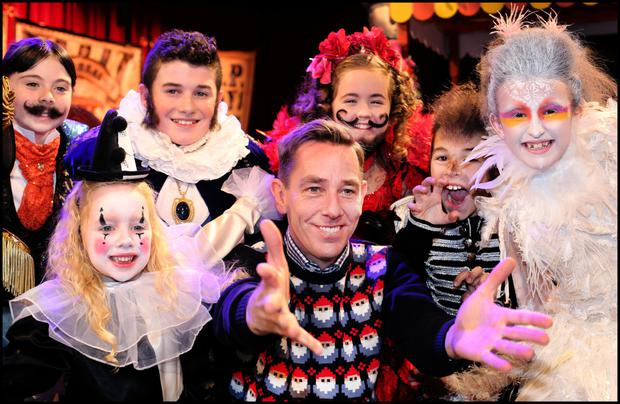 Tough world: Ryan Tubridy on the set of the 'Late Late Toy Show'. RTÉ has clung to the old ways. Photo: Steve Humphreys