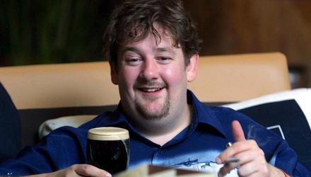 Good cheer: Johnny Vegas is among the stars to have let loose at the Cat Laughs festival in Kilkenny