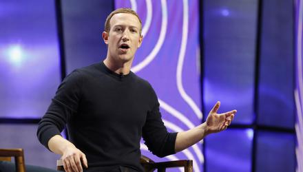 Mark Zuckerberg lost €6bn due to the outage. Photo: George Frey/Bloomberg