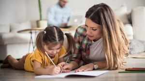 Homeschooling: we did it once, and we are pleased with ourselves for having got through it... but we're not going back. Picture by iStock/PA