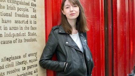 Sally Rooney. Picture by Tony Gavin
