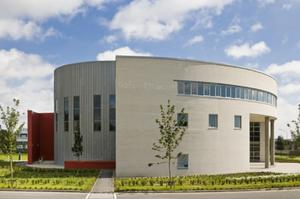 Progress: Waterford and Carlow Institutes of Technology insist things are moving ahead at last. Pictured is the Tourism and Leisure Building at WIT