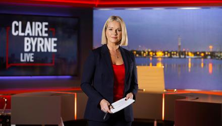 Claire Byrne has considered quitting her job on Claire Byrne Live. Photo: Conor McCabe