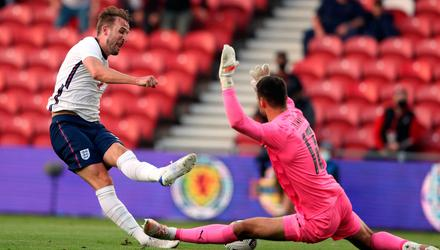 England captain Harry Kane, seen here in last week's win over Austria, could be in line for a glorious summer. Photo: Scott Heppell/PA Wire