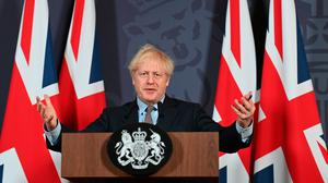 Done deal: UK Prime Minister Boris Johnson announced he had agreed to a Brexit trade deal on Christmas Eve. Photo: Getty