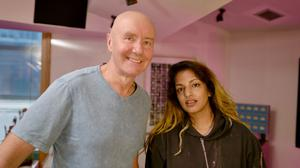 Sky documentary: Irvine Welsh with rapper MIA. Welsh says the backlash received for Trainspotting stung, but says unlike now, people were allowed different opinion in the 1990s