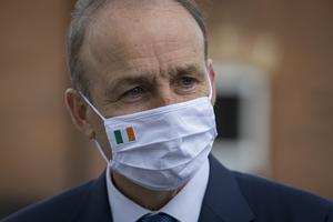 Taoiseach Micheál Martin denies the current catastrophic coronavirus situation is the result of his decision to ease restrictions too soon. Photo: Arthur Carron