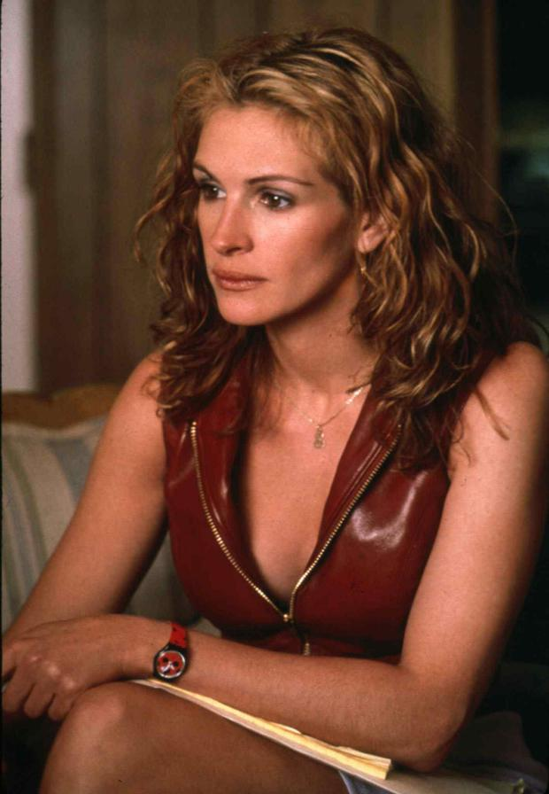 Taking on bosses: Julia Roberts is still considered cinema's poster girl for equality in her role as Erin Brockovich.