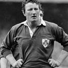 Willie Duggan, pictured back in 1983