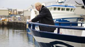 Rudderless: 'Destructive' Tory Prime Minister Boris Johnson has plunged Britain head first into a Brexit disaster with his poor political negotiating skills. Photo: Duncan McGlynn/Getty