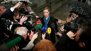 Cliona Saidlear from Rape Crisis Network Ireland condemned Sinn Fein for its ongoing treatment of Maria Cahill