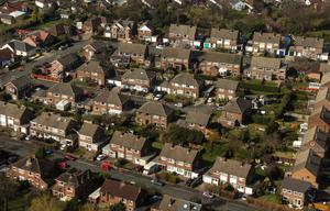 PROPERTY prices increased in the year to February, but the impact of the pandemic is likely to have seen values in free-fall since then (stock photos)