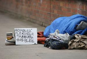 Homelessness in Ireland. Photo: Damien Eagers