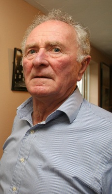 Harry Gregg, Manchester United goalkeeper. Hero of the Munich disaster. And my father's dear friend. Photo: PA