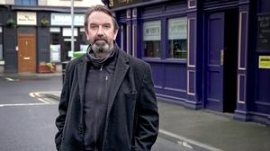 Phelim Drew stars as Fr Liam Plunkett in the controversial Fair City storyline about confession
