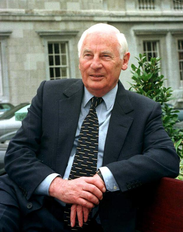The late Peter Barry