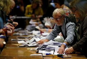 Back to work: The election is long over, the votes are counted, the results were in weeks ago – yet we somehow still do not have a government. Photo: Reuters