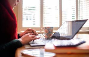 If you're not working, perhaps you can expand your professional skills by taking an online course. (Stock picture)