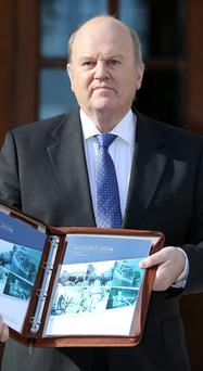 Michael Noonan: minister's Budget 'won't be noticed by the well-off'
