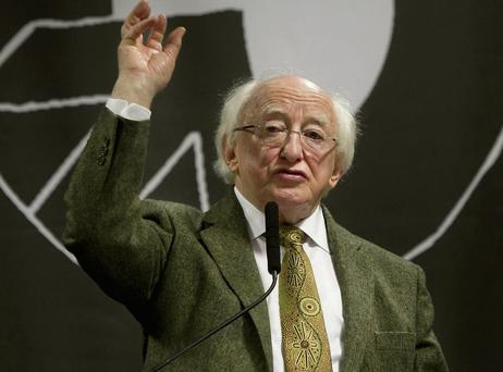 Hopefully President Michael D Higgins will deliver a grounded message during his State visit to Britain