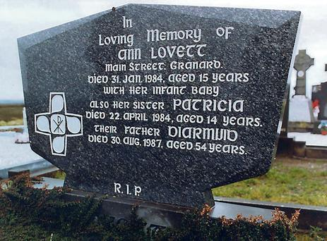 Ann Lovett's grave in Granard, Co Longford.