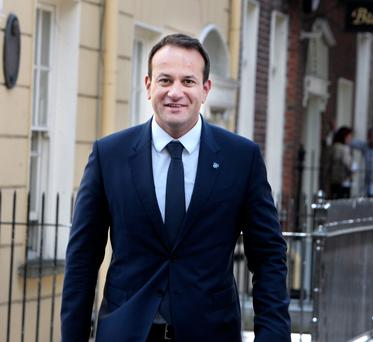 Health Minister Leo Varadkar pictured at Leinster House. Photo: Tom Burke