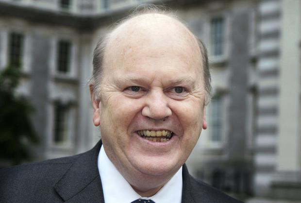 Finance Minister Michael Noonan; the recovery is happening