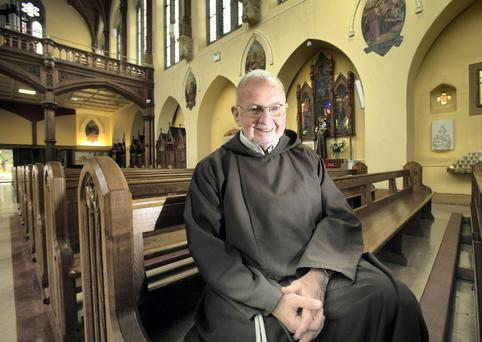 Inspiration: Brother Kevin Crowley in the Capuchin Friary Church, Dublin