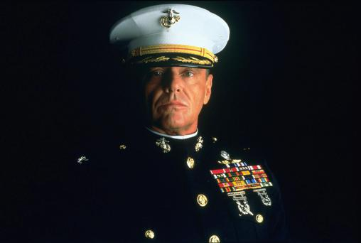 'You can't handle the truth!' Jack Nicholson in 'A Few Good Men'
