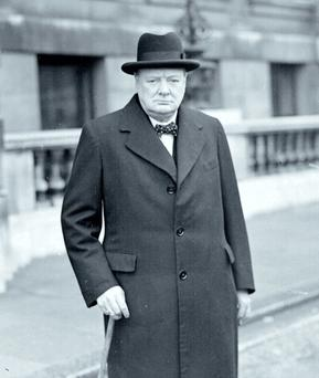 Winston Churchill, captain of his soul