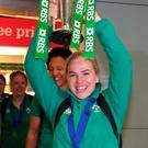 Ireland's Six Nations' winning captain Niamh Briggs. But are we doing enough to encourage women in sport?