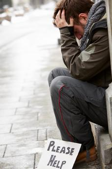 Homeless Irish people are going for days without a hot meal